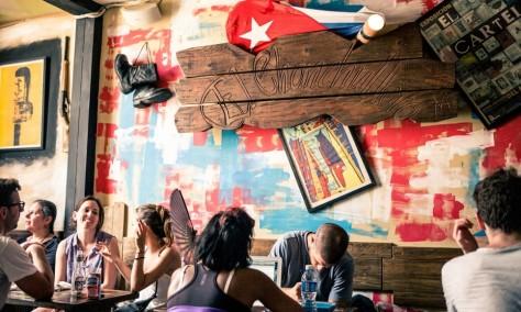 The El Chanchullero bar, Old Havana – Julio's tip. All photographs: Matt Humphrey