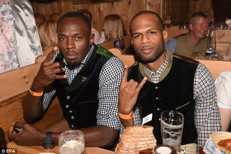As news of the crash broke, several athletes traveled to the scene, including track star Usain Bolt. The two men, pictured together in 2016, were close friends