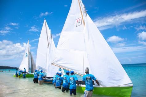 Grenada Sailing Festival Westerhall White Jack Workboat Regatta